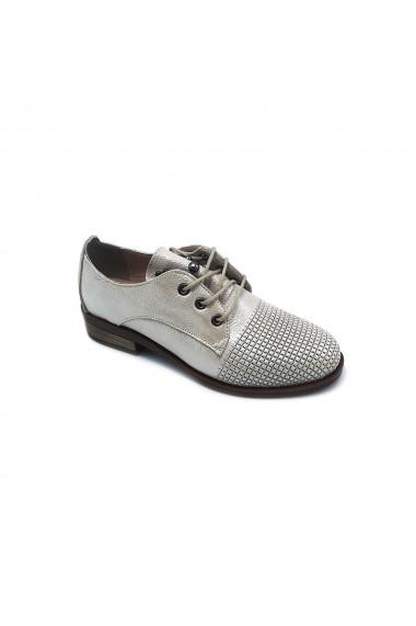 Pantofi piele naturala Torino 15 aurii