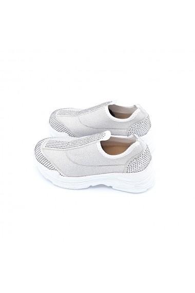 Pantofi sport Torino 17 argintiu