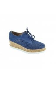 Pantofi piele naturala dama Torino 015 blue
