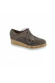 Pantofi piele naturala dama Torino 015-012 bej