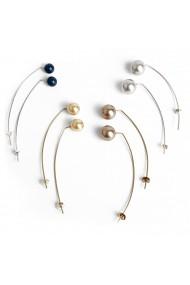Cercei argint Bubble of Beauty Jewelry 033 Argintiu