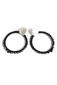 Cercei fantezie Bubble of Beauty Jewelry 037 Argintiu