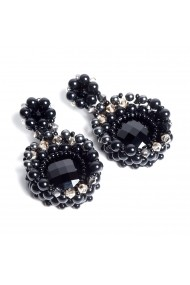 Cercei fantezie Bubble of Beauty Jewelry 041 Negru