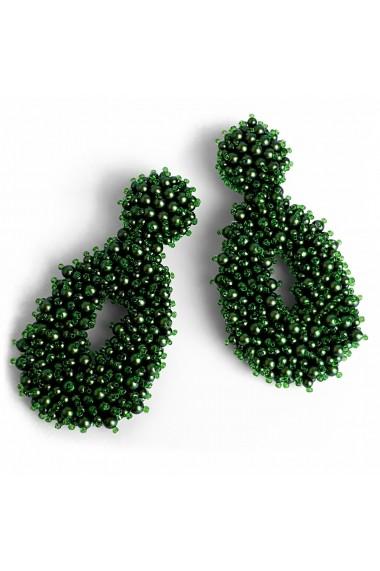 Cercei fantezie Bubble of Beauty Jewelry 048 Verde