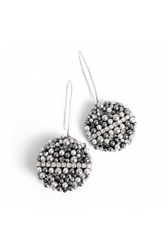 Cercei fantezie Bubble of Beauty Jewelry 055 Argintiu