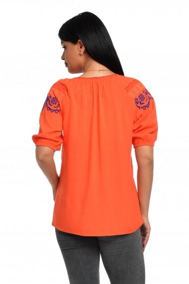 Ie traditonala romanesca Dress To Impress orange