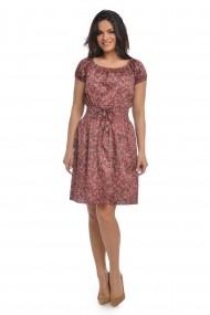 Rochie de zi Dress To Impress din bumbac multicolora