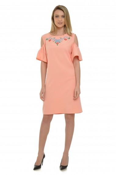 Rochie Dress To Impress cu umerii goi