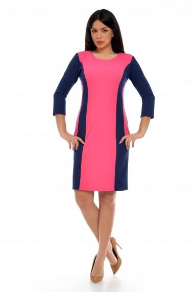 Rochie scurta Dress To Impress cu insertii fine de lurex
