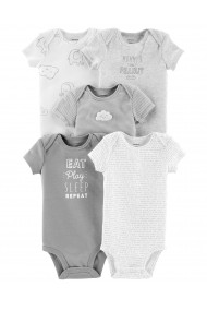 Carters Set 5 Piese - body-uri neutre