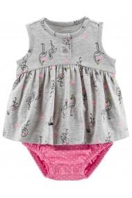 Body Carters tip rochita cu flamingo bumbac