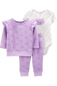 Set 3 Piese Carters 18506910 Lila