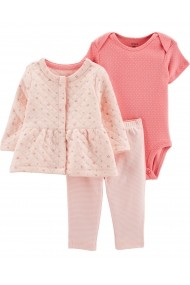 Set 3 piese Carters 18505110 Roz