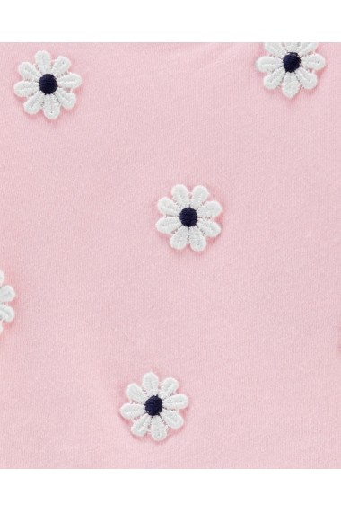 Set 2 Piese Carters rochie si colanti Flori