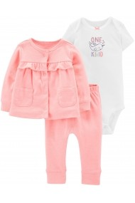 Set 3 Piese Carters 16633310 Roz