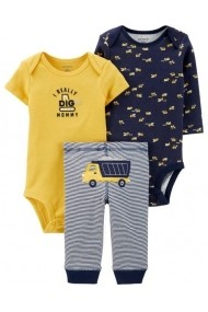 Set 3 piese Carters 17644010 Multicolor
