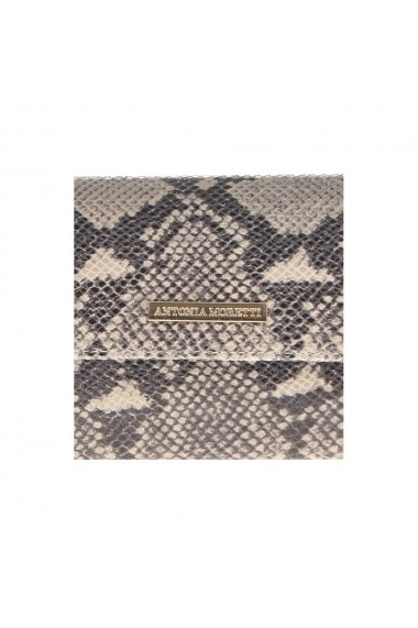 Clutch Antonia Moretti AM0353Beige Animal Print