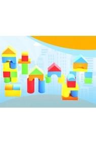 Cuburi de construit din spuma (EVA foam) 74 buc