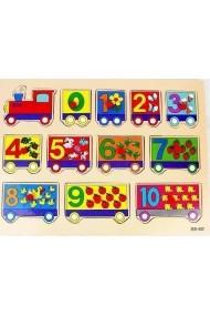 Puzzle trenulet
