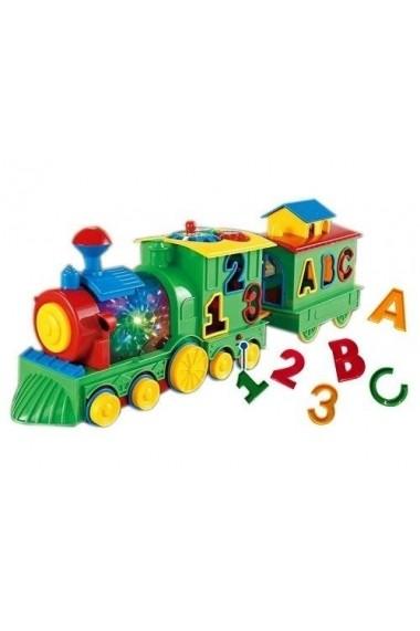 Trenulet multifunctional cu sunete si luminite