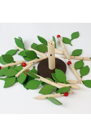 Copac din lemn Montessori primavara-toamna