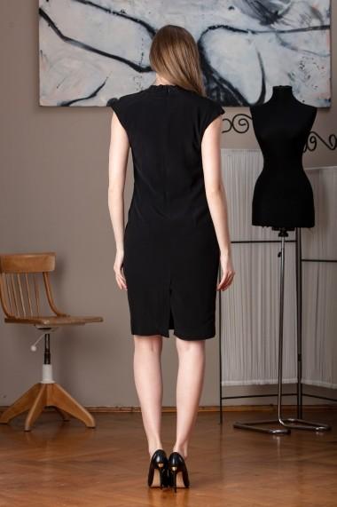 Rochie de zi Giorgal Premian neagra