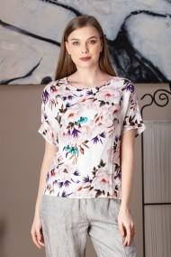 Bluza Giorgal imprimeu floral Gias