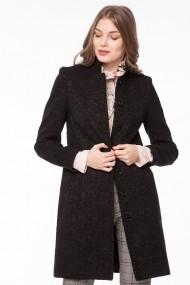 Palton Giorgal drept din lana Mistic negru