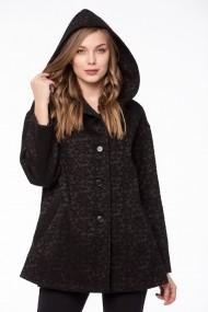 Palton Giorgal din lana Bery negru