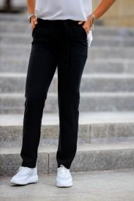 Pantalon Giorgal negru de vara Ioana
