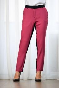 Pantaloni drepti casual bicolori, Bica