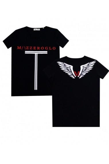 Tricou Mazzeroglo MZG-12350 Negru