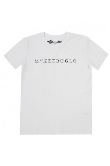 Tricou Mazzeroglo MZG-12354 Alb