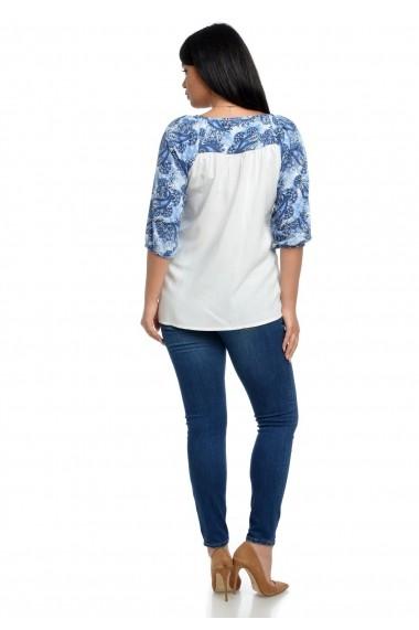 Bluza Eranthe V109 Paisley Print