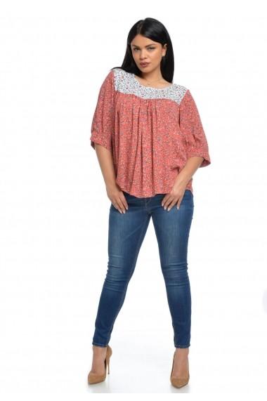 Bluza Eranthe Candy V116 Caramizie