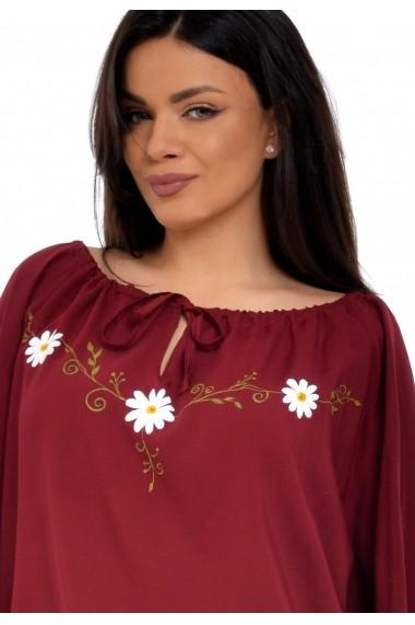 Bluza Eranthe Daisy V94 Bordo