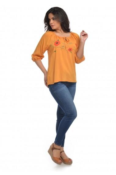 Bluza Eranthe Poppy V103 Galbena