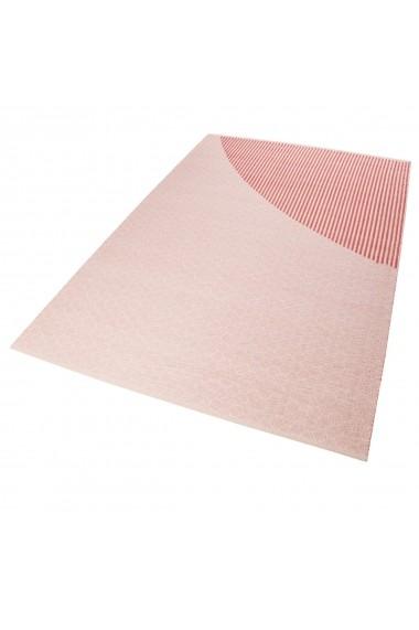 Covor Esprit Modern & Geometric East Atlanta Kelim, Roz, 160x230