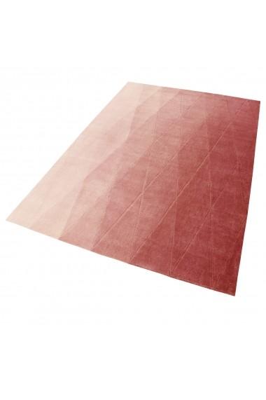 Covor Esprit Modern & Geometric Haux, Rosu, 70x140