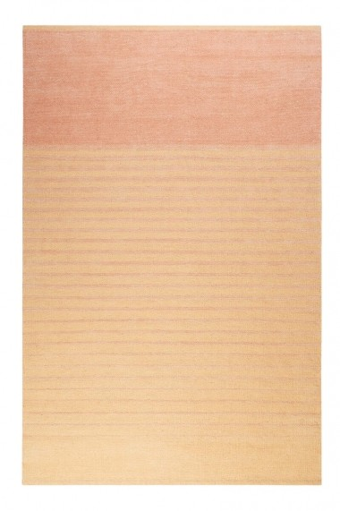 Covor Esprit Modern & Geometric Waves Kelim, Portocaliu, 80x150