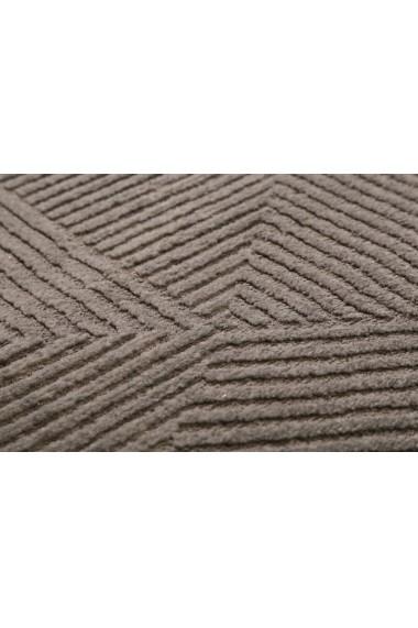 Covor Esprit Modern & Geometric Velvet Groove, Maro, 120x170