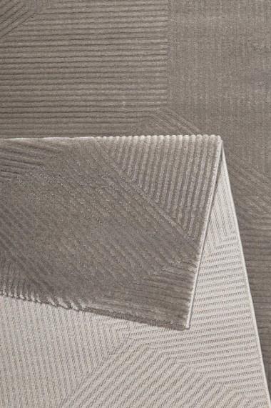 Covor Esprit Modern & Geometric Velvet Groove, Maro, 200x290
