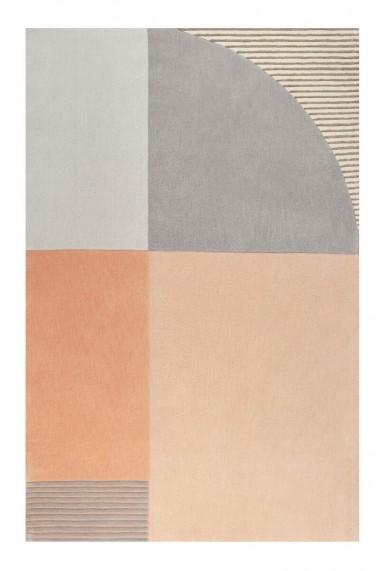 Covor Esprit Modern & Geometric Runway, Portocaliu, 130x190