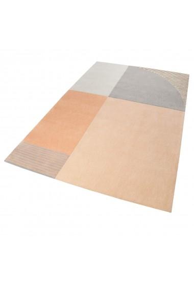 Covor Esprit Modern & Geometric Runway, Portocaliu, 160x230