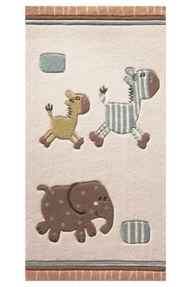 Covor Esprit Copii & Tineret Lucky Zoo Acril Bej 120x180 cm
