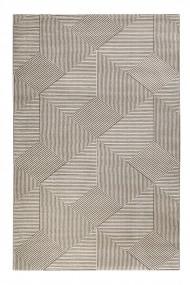 Covor Esprit Modern & Geometric Velvet Groove, Bej, 80x150