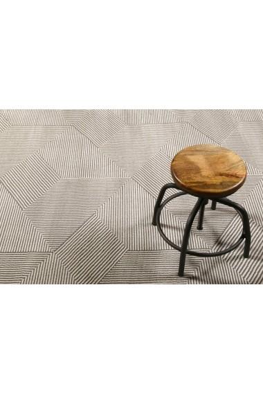 Covor Esprit Modern & Geometric Velvet Groove, Bej, 120x170