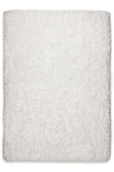 Covor Tom Tailor Shaggy Flocatic Alb 60x90 cm