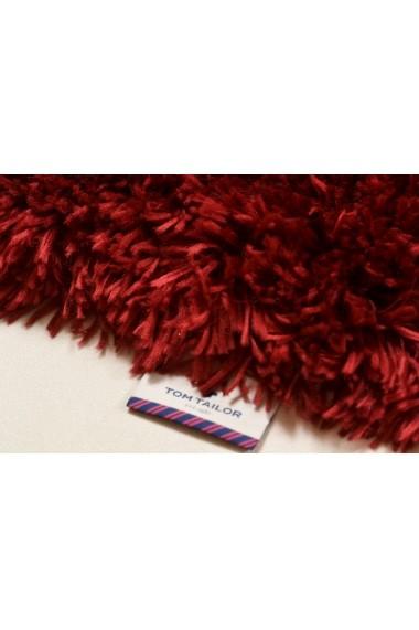 Covor Tom Tailor Shaggy Flocatic Rosu 160x230 cm