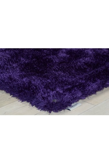 Covor Tom Tailor Shaggy Soft Mov 65x135 cm